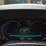BMW 740Le plug-in hybrid instrument cluster at IAA 2015