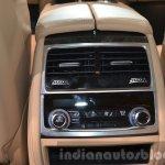 BMW 740Le plug-in hybrid rear AC vent at IAA 2015