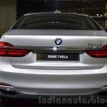 BMW 740Le plug-in hybrid rear at IAA 2015