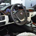 BMW Alpina B3 Biturbo Facelift interior dashboard steering wheel at IAA 2015