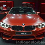 BMW M4 in Frozen Red metallic front at iAA 2015