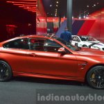 BMW M4 in Frozen Red metallic side at iAA 2015