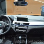 BMW X1 M-Sport Package dashboard at IAA 2015