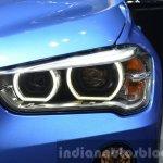 BMW X1 M-Sport Package headlight glow at IAA 2015