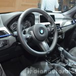 BMW X1 M-Sport Package interior at IAA 2015