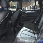 BMW X1 M-Sport Package rear seat and upholstery at IAA 2015