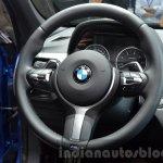 BMW X1 M-Sport Package sport steering wheel at IAA 2015