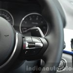 BMW X1 M-Sport Package steering buttons at IAA 2015
