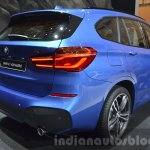 BMW X1 M-Sport Package taillamp and rear bumper at IAA 2015