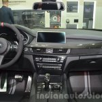 BMW X6 with M Performance Parts dashboard view at IAA 2015