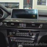 BMW X6 with M Performance Parts iDrive display at IAA 2015