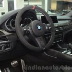 BMW X6 with M Performance Parts interor at IAA 2015