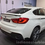 BMW X6 with M Performance Parts spoiler and rear bumper at IAA 2015