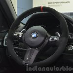 BMW X6 with M Performance Parts steering wheel at IAA 2015
