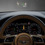 Bentley Bentayga cluster press shots
