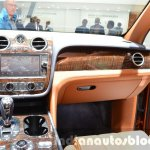Bentley Bentayga dashboard at the IAA 2015