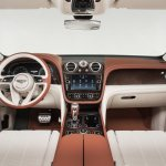 Bentley Bentayga dashboard press shots