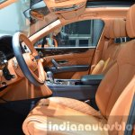 Bentley Bentayga front cabin at the IAA 2015