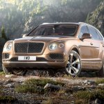 Bentley Bentayga front press shots
