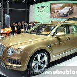 Bentley Bentayga front three quarter (1) at the IAA 2015