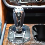 Bentley Bentayga gear selector at the IAA 2015