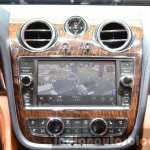 Bentley Bentayga infotainment display at the IAA 2015