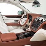 Bentley Bentayga interior press shots