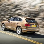 Bentley Bentayga press shots