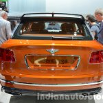 Bentley Bentayga rear at the IAA 2015