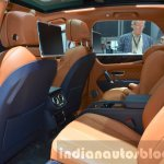Bentley Bentayga rear cabin at the IAA 2015