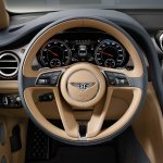 Bentley Bentayga steering press shots