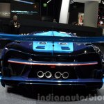 Bugatti Vision GT rear at the IAA 2015
