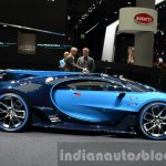 Bugatti Vision GT side at the IAA 2015
