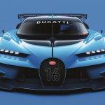 Bugatti Vision Gran Turismo front unveiled