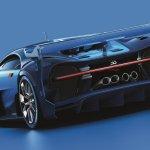 Bugatti Vision Gran Turismo rear quarter unveiled