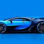 Bugatti Vision Gran Turismo side unveiled