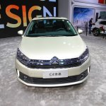 Citroen C4 Sedan front at the 2015 Chengdu Motor Show