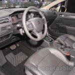 Citroen C4 Sedan interior at the 2015 Chengdu Motor Show