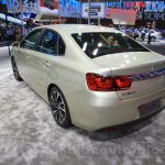 Citroen C4 Sedan rear quarters at the 2015 Chengdu Motor Show