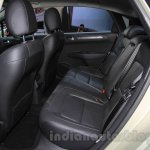 Citroen C4 Sedan rear seats at the 2015 Chengdu Motor Show