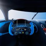 Cockpit of the Bugatti Vision GT (official image)