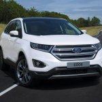 Euro-spec Ford Edge front quarter unveiled
