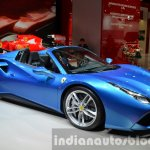 Ferrari 488 Spider front three quarter view at IAA 2015