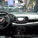 Fiat 500L Beats Edition dashboard at the IAA 2015