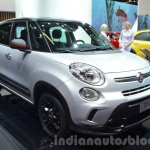 Fiat 500L Beats Edition front three quarter at the IAA 2015