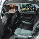 Fiat 500L Beats Edition rear cabin at the IAA 2015