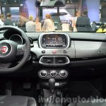 Fiat 500X Cross Plus dashboard at the IAA 2015