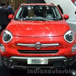 Fiat 500X Cross Plus front at the IAA 2015