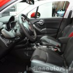 Fiat 500X Cross Plus front cabin at the IAA 2015