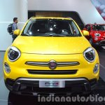 Fiat 500X Cross Plus front yellow at the IAA 2015